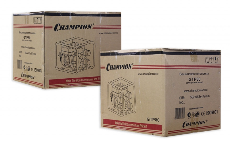 Мотопомпа Champion