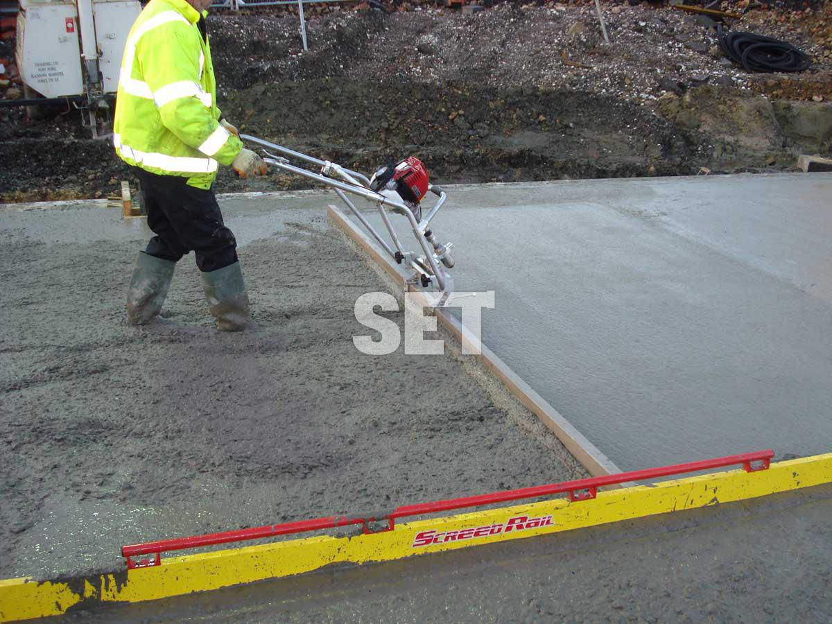 Виброрейки для укладки бетона своими руками